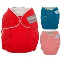 GroVia Newborn Nappy Colours