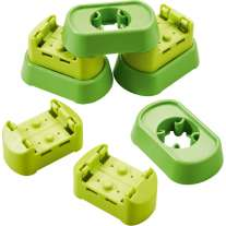 Haba Rollerby Set Floor Connectors & Bases