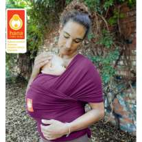 Hana Shorty Organic Baby Wrap