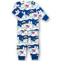 JNY Snowy Cottage 2-Piece Pyjamas