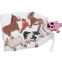 Lanka Kade Farm Animals - Bag of 6