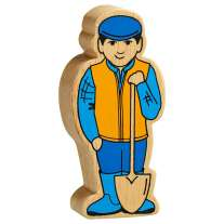 Lanka Kade Blue & Yellow Farm Man