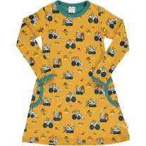 Maxomorra Brick Builders LS Dress