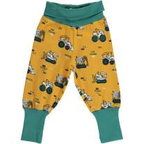 Maxomorra Brick Builders Rib Pants