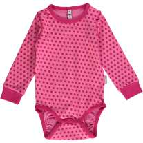Maxomorra Cerise Dots LS Body