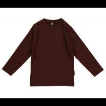Maxomorra Dark Brown LS Top
