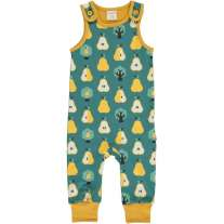 Maxomorra Golden Pear Dungarees