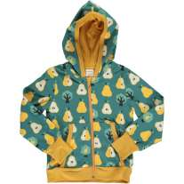Maxomorra Golden Pear Hooded Cardigan