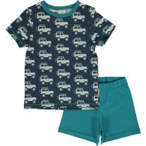 Maxomorra Jeep Adventure SS Pyjamas