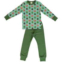 Maxomorra Busy Squirrel LS Pyjamas