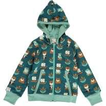 Maxomorra Lake Life Hooded Cardigan