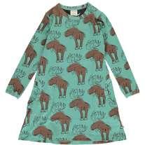 Maxomorra Mighty Moose LS Dress
