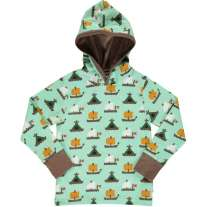 Maxomorra Raft Race LS Hooded Top