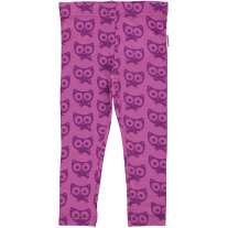 Maxomorra Purple Cats Leggings