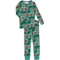 Maxomorra Big City LS Pyjamas