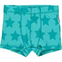 Maxomorra Turquoise Stars Boxer Shorts