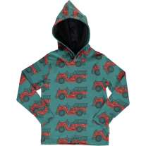 Maxomorra Vintage Fire Truck LS Hooded Top