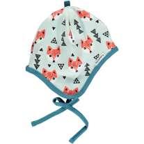 Maxomorra Blue Fox Bonnet Hat