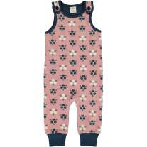 Maxomorra Blueberry Blossom Dungarees