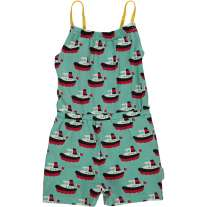 Maxomorra Boat Short Jumpsuit