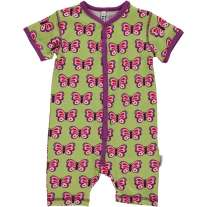 Maxomorra Butterfly Shortie Romper