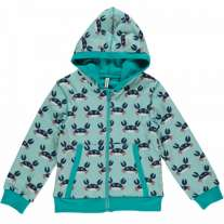 Maxomorra Crab Zip Hoody
