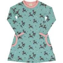 Maxomorra Dashing Reindeer LS Dress