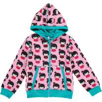 Maxomorra Doll Zip Hoody