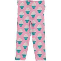 Maxomorra Ice Cream Cropped Leggings