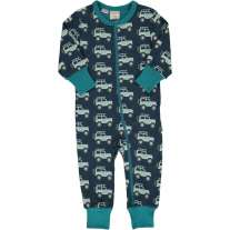 Maxomorra Jeep Adventure LS Zip Romper