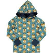 Maxomorra Lively Lynx LS Hooded Top