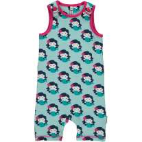 Maxomorra Mermaid Short Dungarees