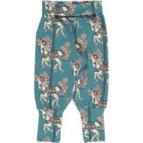 Maxomorra Merry-Go-Round Rib Pants
