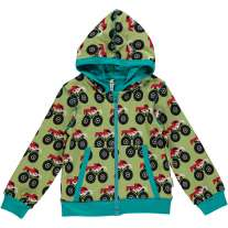 Maxomorra Monster Truck Zip Hoody