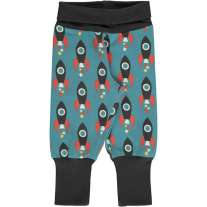 Maxomorra Moon Rocket Rib Pants