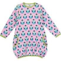 Maxomorra Owl LS Balloon Dress