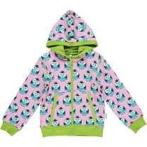 Maxomorra Owl Zip Hoody