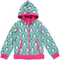 Maxomorra Penguin Zip Hoody