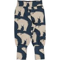 Maxomorra Polar Bear Rib Pants