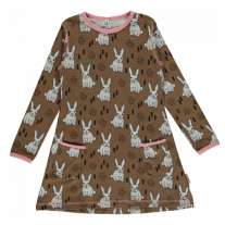 Maxomorra Rabbit LS Tunic