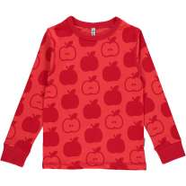 Maxomorra Red Apples LS Top