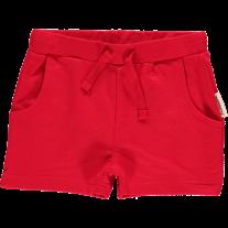 Maxomorra Red Sweat Shorts