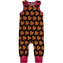 Maxomorra Squirrel Dungarees