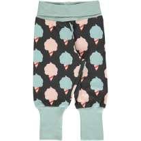 Maxomorra Sweet Cotton Candy Rib Pants