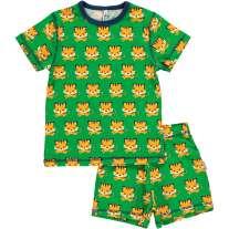 Maxomorra Tiger Shortie Pyjamas