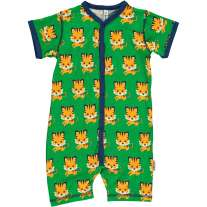 Maxomorra Tiger Shortie Romper