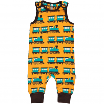Maxomorra Train Dungarees