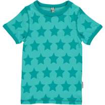 Maxomorra Turquoise Stars SS Top
