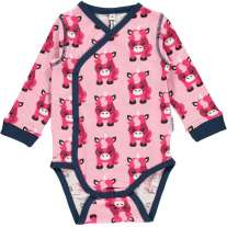 Maxomorra Unicorn LS Wrap Body