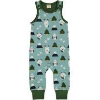 Maxomorra Winter World Dungarees